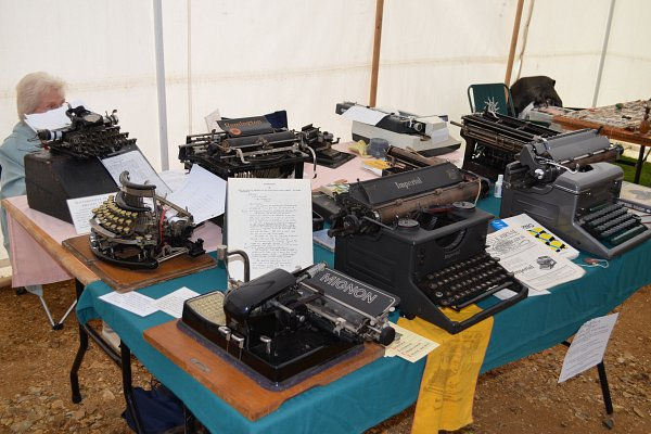 Jim Bambers Typewriter Collection